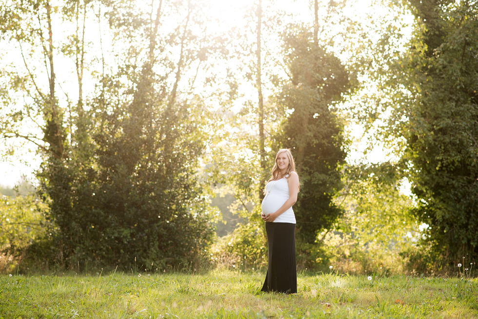 Mama to Be | Bellingham Maternity Photography